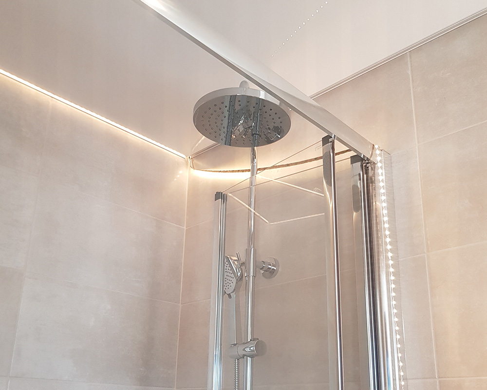 Bathroom lighting project